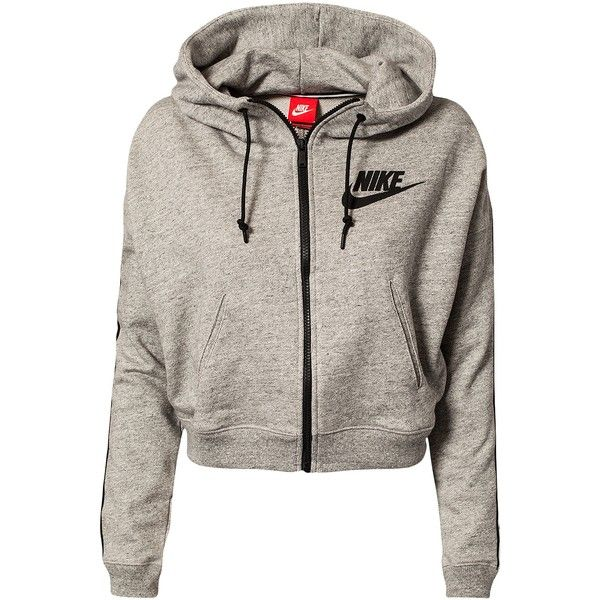 Nike District 72 Fz Hoody (1.635 ARS) ❤ liked on Polyvore featuring tops, hoodies, jackets, outerwear, shirts, grey, sports fashion, sweaters sports fashion, womens-fashion and nike hoodies