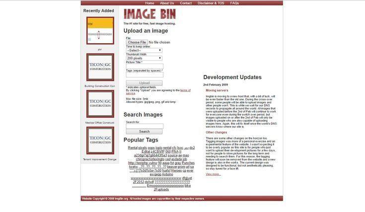 Upload And Share Your Images With These Free Image Hosting Websites Imagebin Imagehosting Website Hosting Learn Photo Editing Hosting