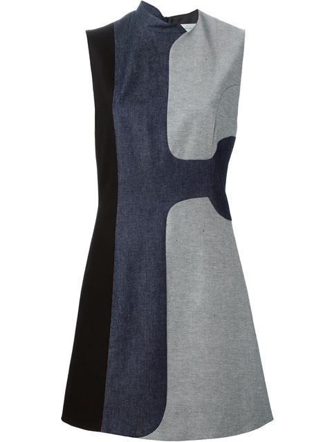 Comprar Victoria Beckham Denim vestido con paneles en denim en The Shop at Bluebird from the world's best independent boutiques at farfetch.com. Shop 300 boutiques at one address.