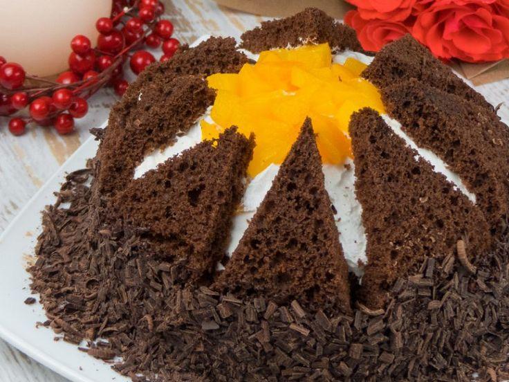 "Tort ""Kilimanjaro"" – copii vor devora acest desert exploziv de delicios!"