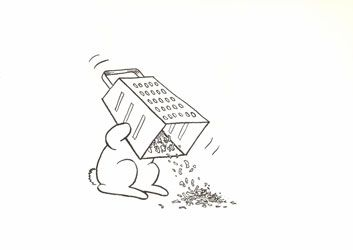Bunny suicides - Andy Riley exhibition spring 2011