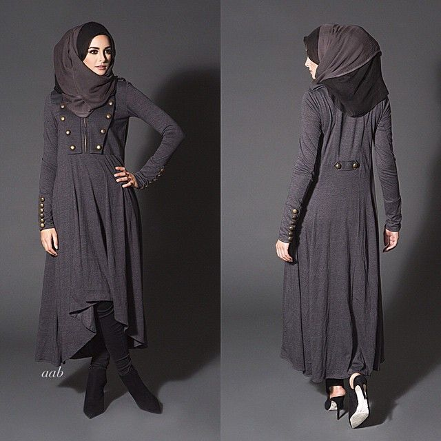 Carbon Charreteras Midi Code: W14MWCCM Pair with Slim Leg Trousers & Black…