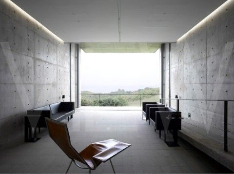 PRINGIERS HOUSE , TADAO ANDO ARCHITECTS, MIRISSA, SRI LANKA, 2011 - LIVING ROOM