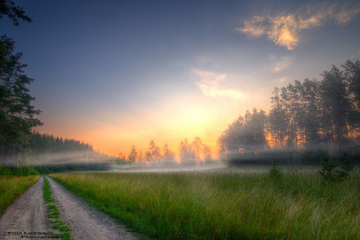 Summer morning by Ville Lukka on 500px