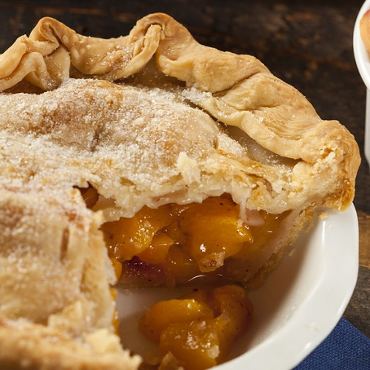fresh peach pie recipe is made with a homemade double crust.. Fresh ...