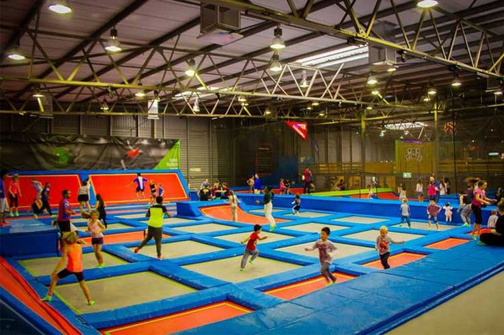 Rush Indoor Trampoline Park: Things To Do with Kids