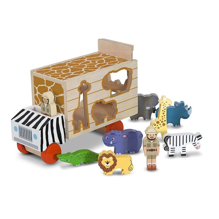 Melissa & Doug Animal Rescue Shape-Sorting Truck from Melissa & Doug - The Bump Baby Registry Catalog