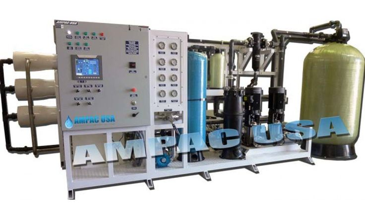 Sea Water Desalination Watermaker Land Based 60,000 GPD | SW60000-LX