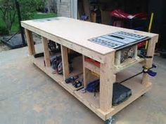 build a table saw station - Bing Images                                                                                                                                                                                 More
