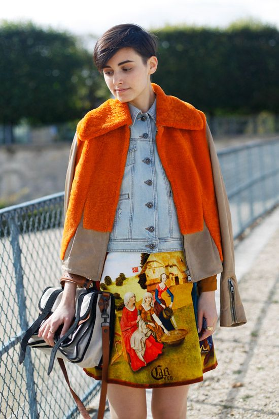 PFW SS13 Street Style // Anne-Catherine