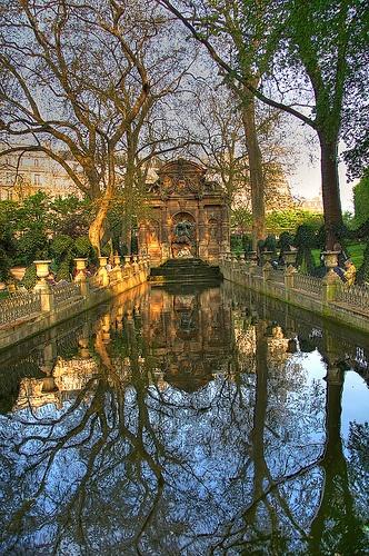 ★ Medici Fountain  Luxembourg Gardens Jardin du Luxembourg PARIS