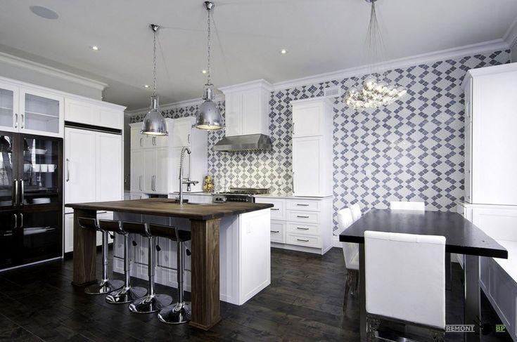 Плитка для кухни: 100 фото дизайна стен, пола и фартука