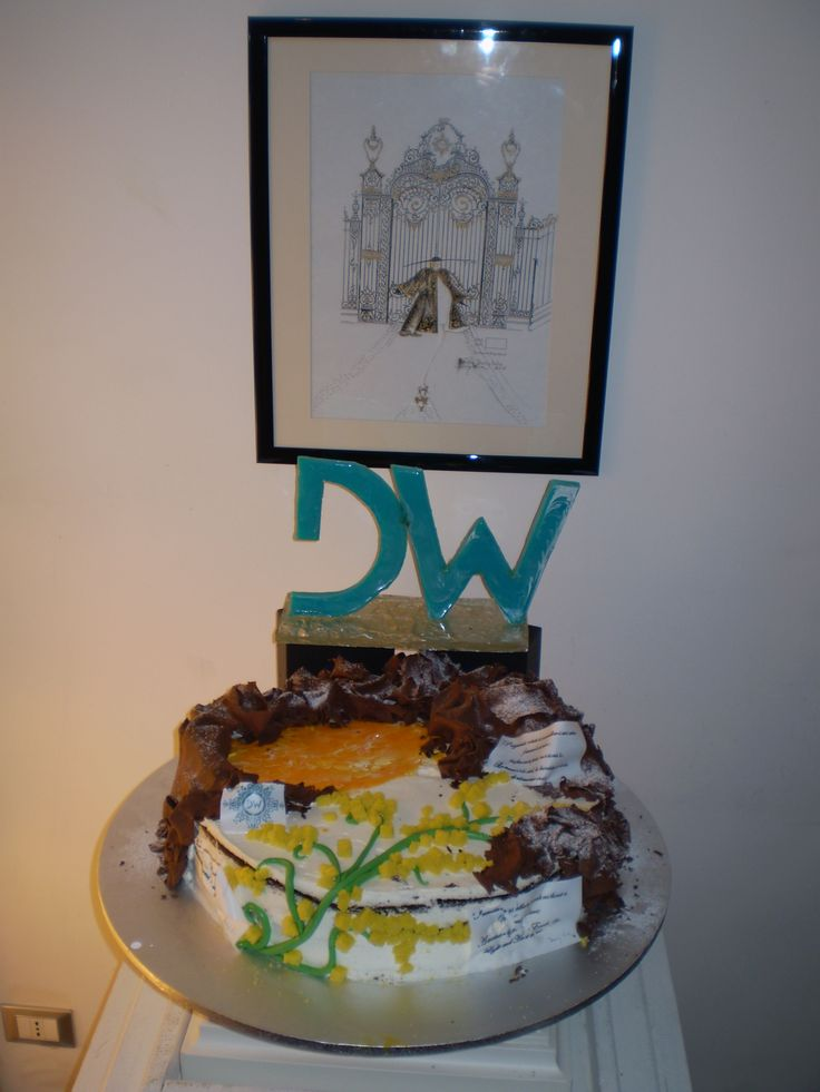 DANNY WISE Cake, Danny Wise Torta: My Dears Friends, Fans, Estimators, Clients:  March is the Month of the Woman, but in my Fashion house we Glorify the Woman every days of every months of the Year. Danny Wise special Thank to Pasticceria Cappello (Pa) for this lovely DW Cake of 30 Kg. #dannywisecake