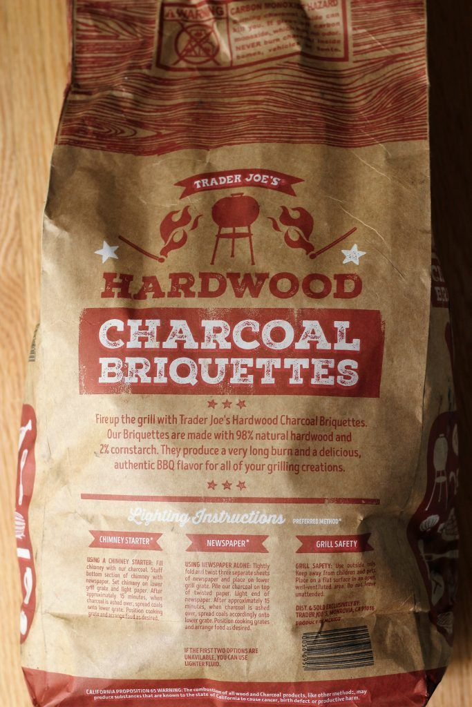 Trader Joe's Hardwood Charcoal Briquettes are seasonal. But are they worth picking up? Read my review for more information about this product.