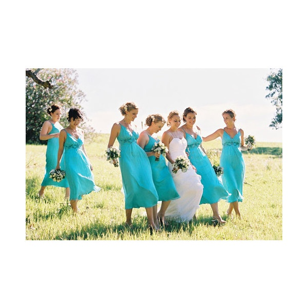 Turquoise bridesmaid dresses for beach wedding for Turquoise bridesmaid dresses for beach wedding