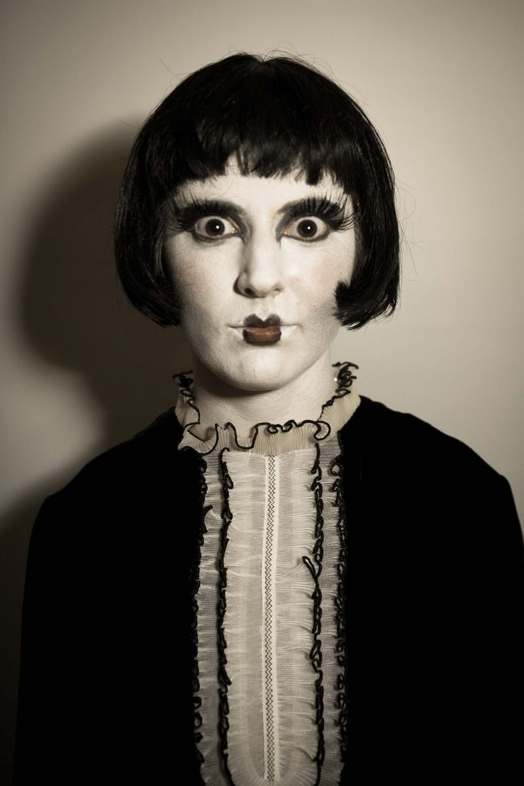 creepy doll makeup - Google Search