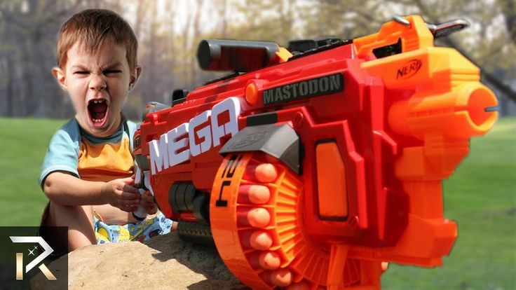 10 Powerful NERF TOYS Kids Shouldn't Play With