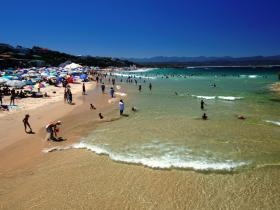 Plettenberg Bay Central Beach, South Africa. Travel like a local