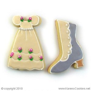 Karen's Cookies Showing sugar cookies using Ivory color soft gel paste ... If you have not visited Karen's Cookies website, you are in for a treat!  Karen and her tutorial videos years ago really got me interested in the the fun and love of cookie baking and decorating !