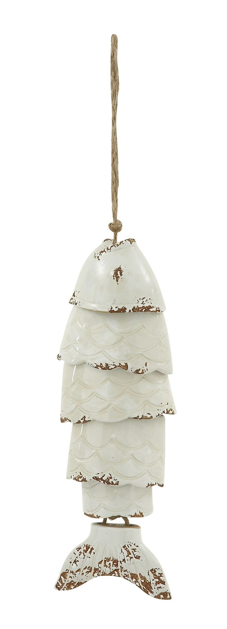 Features:  -Color: White.  -Material: Ceramic.  Product Type: -Wind chime and bell.  Color: -White.  Style: -Traditional.  Material: -Ceramic.  Theme: -Animal.  Holiday Theme: -Yes.  Holiday: -Father'