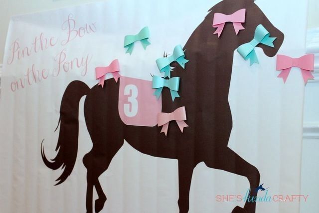"""Photo 1 of 43: Preppy Derby Pony Party / Birthday """"Horses and Hairbows"""" 
