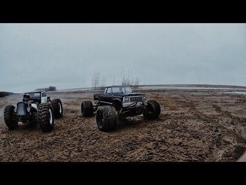 Savage Flux XL MT4 G3 beach action (fire stunt bonus) - YouTube