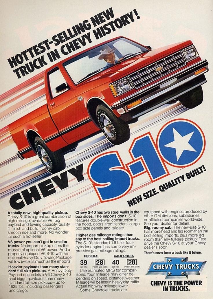 1982 Chevrolet S-10