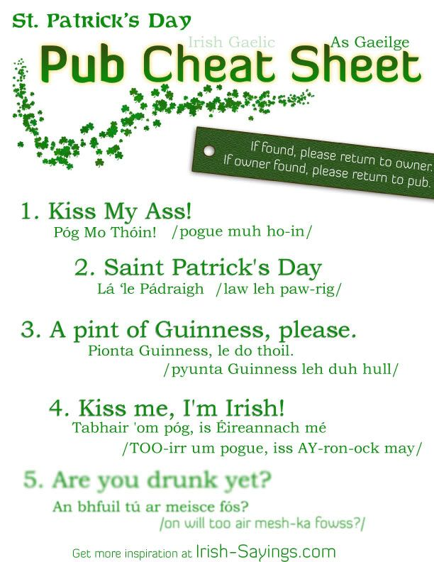 182 best images about irish quotes blessing 39 s humor on for Funny irish sayings for st patrick day