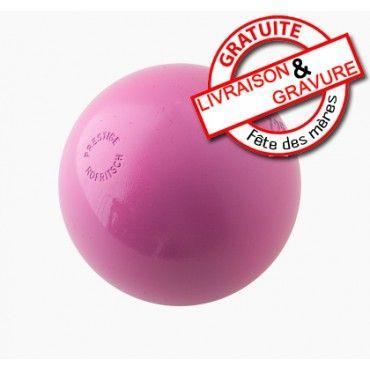"""""""Boules de pétanque rose Prestige Carbone 110 Coffret & Sacoche"""""""