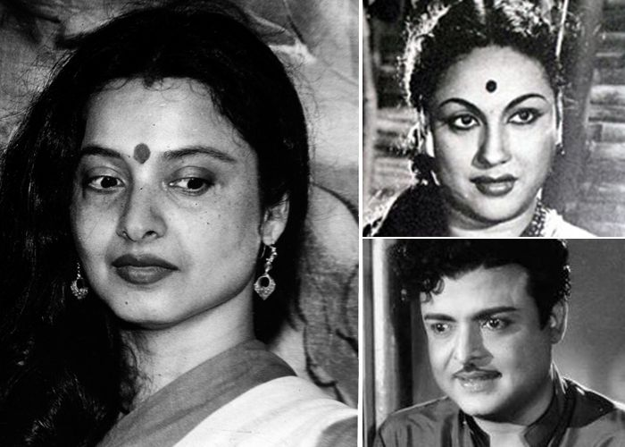 Rekha Is Actor Gemini Ganesan And Actress Pushpavalli S