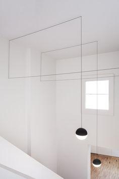 string lights for flos