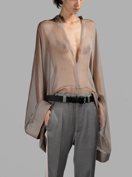 HAIDER ACKERMANN Thallium Shirt