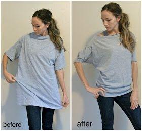 I Tried It Too!: Dolman Shirt DIY