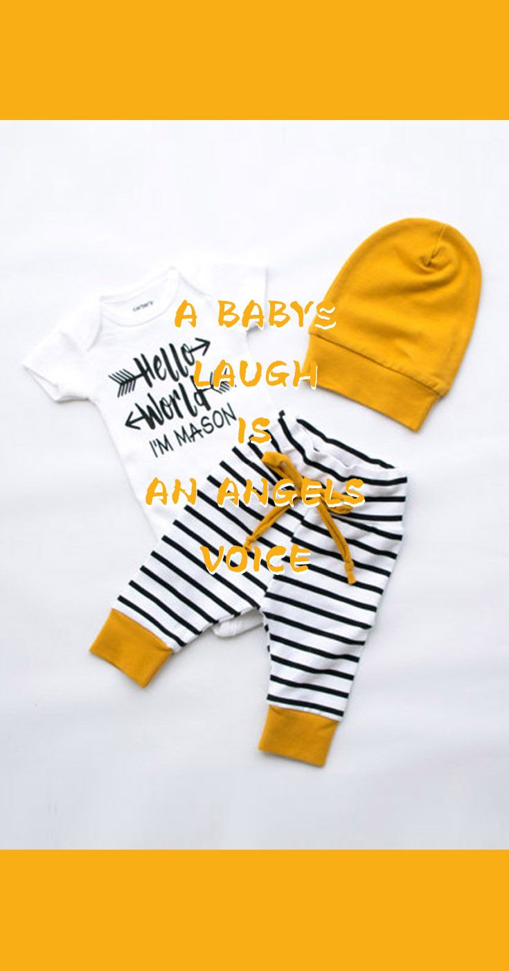 Three Pieces Stripe Short Sleeves Baby Crawl Suits (Size Available: 70cm,80cm,90cm,100cm);newborn baby boy dress;newborn winter clothes at ZNU. #kidsfashion #baby #babyfashion #babysuit #mother #notesforparents #parentsquotes #parentshood https://presentbaby.com