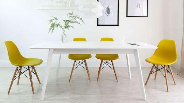 Eames Ruokapöydän Tuolit