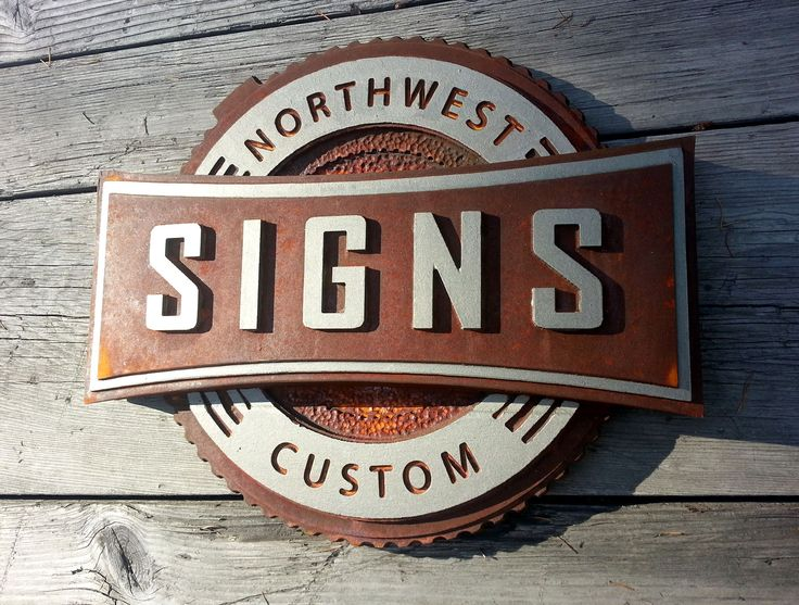Custom Designed Dimensional Building And Monument Signs And Displays In The  Seattle Area.