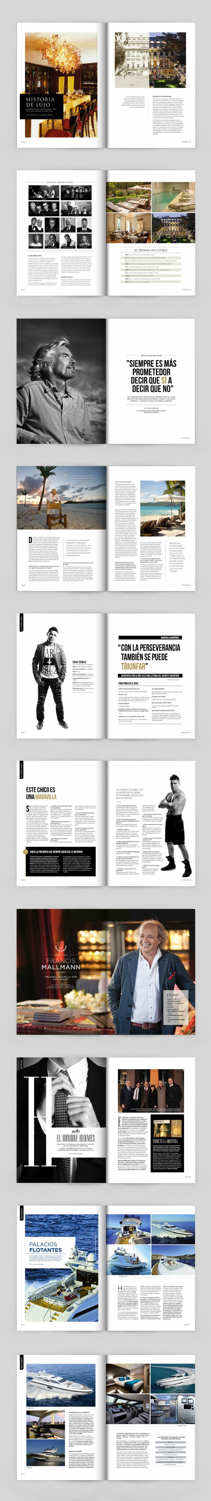 Diseño de la Revista Aeropuertos Vip Club, publicación de las Salas VIP de Aeropuertos Argentina 2000.