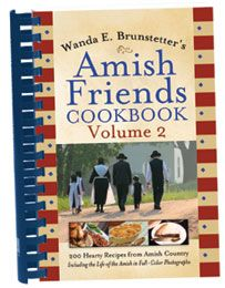"""Another one of my favorite desserts is called """"Angel Cream Pie."""" It's found in Vol. 2 of my Amish Friends Cookbooks, and was given to me by my friend, Betty Miller. The first time I tasted it, I thought it was heavenly. Maybe that's why it's called """"Angel Cream Pie."""""""