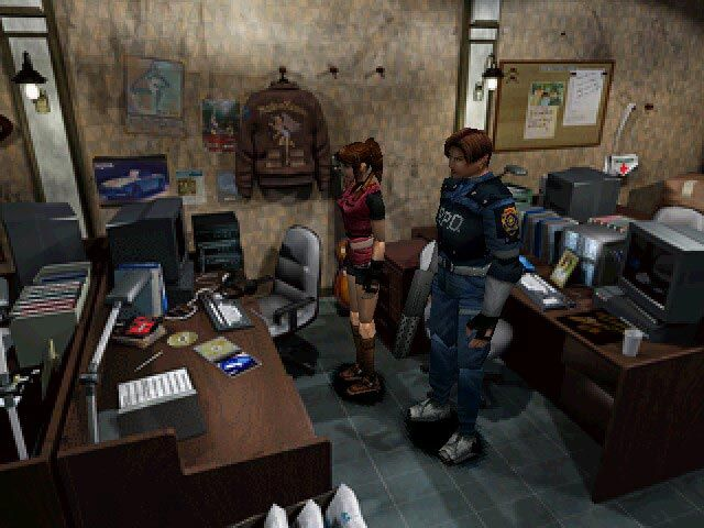Resident Evil 2, my favorite in the series, not only due to the lengthy playtime but also it's got Leon in it!