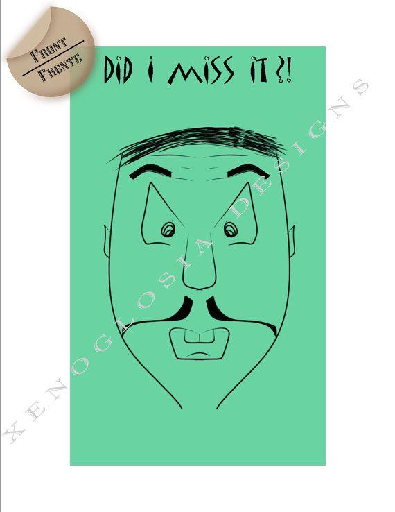 Belated Birthday Greeting Card // Tarjeta De Cumpleaños Tardío  #XenoglosiaDesigns #GreetingCard #Tarjeta