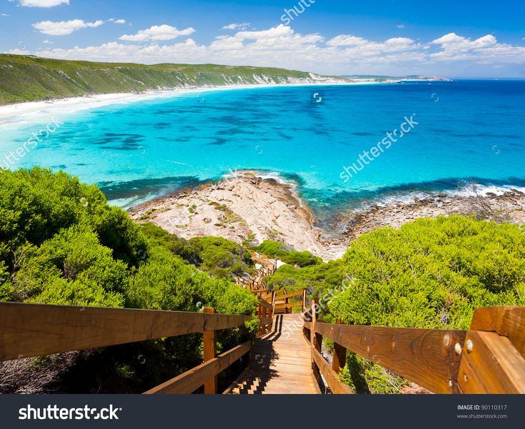 http://image.shutterstock.com/z/stock-photo-wooden-path-at-observatory-point-great-ocean-drive-western-australia-90110317.jpg