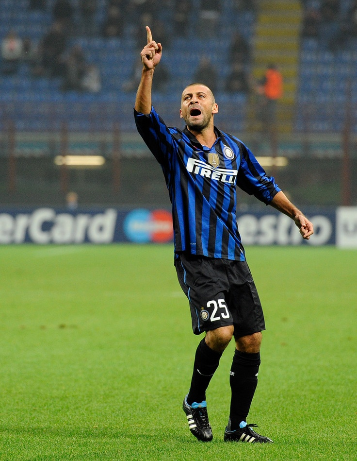 Walter Samuel - Newell's Old Boys, Boca Juniors, Roma, Real Madrid, Internazionale, Argentina.