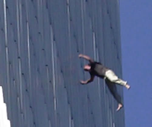 9 11 Jumpers Dead Bodies 9/11 jumpers hitting ground
