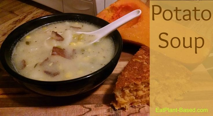 Potato Soup | Fall weather, Soups and Red skinned potatoes