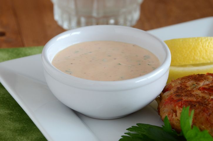 Remoulade sauce for Tuna Steaks... amazing!
