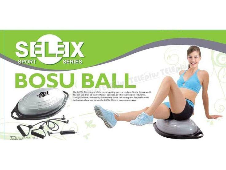 Selex HD-1000 Bosu Topu - Bosu ball ölçüleri 61x39x20 cm  15 cm Pompa  Bosu topu spor dünyası için heyecan verici egzersiz araçlarından biridir. - Price : TL308.00. Buy now at http://www.teleplus.com.tr/index.php/selex-hd-1000-bosu-topu.html