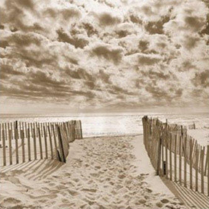...warm sand at the beach....