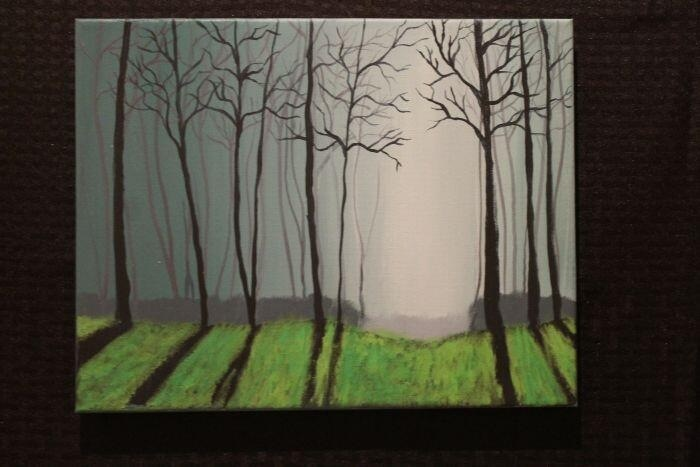 """The Trees""  By: Santiago II For sale: $165"