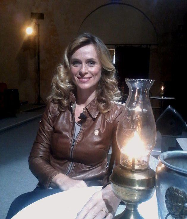 """Serena Autieri, con """"La Sciantosa"""", al Teatro S. Nicolò, per il 56° Festival dei Due Mondi, Spoleto."""