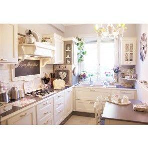 Cucina Shabby verniciato chiaro